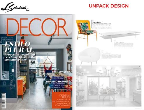 UNPACK DESIGN na revista DECOR edição 139
