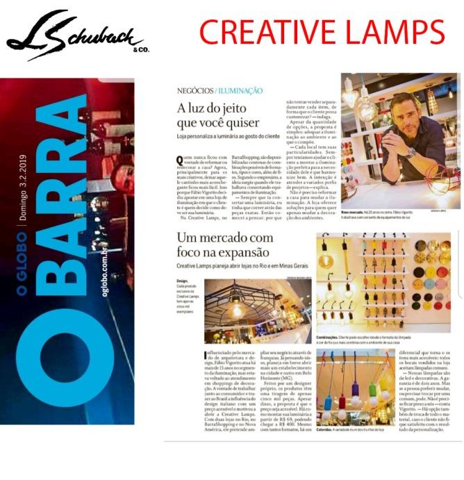 creative-lamps-no-caderno-globo-barra-do-jornal-o-globo-em-3-de-fevereiro-de-2019