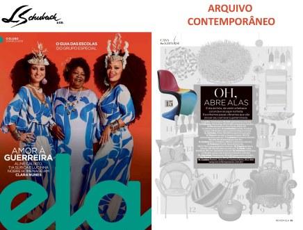 ARQUIVO CONTEMPORÂNEO na revista ELA, do Jornal O Globo, em 3 de março de 2019 - parte 1