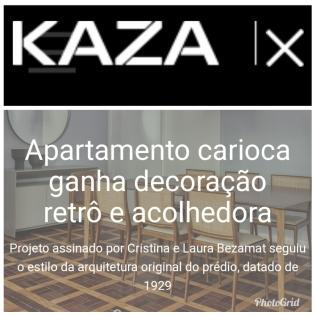 BEZAMAT ARQUITETURA no site da revista Kaza publicado em 30 de maio de 2019