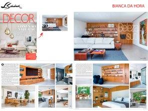 BIANCA DA HORA na Revista Decor edição 142