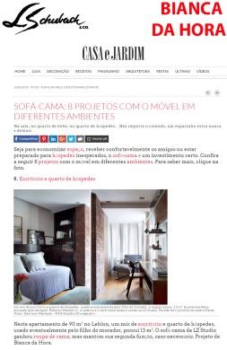 BIANCA DA HORA no site da CASA E JARDIM em 14 de maio de 2019
