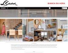 BIANCA DA HORA no site da revista KAZA publicado em 12 de março de 2019 - site