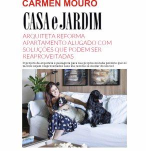 CARMEN MOURO no site CASA E JARDIM março 2019