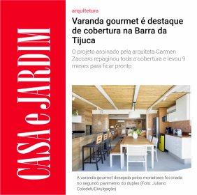 CARMEN ZACCARO no site da CASA & JARDIM publicado em 6 de maio de 2019