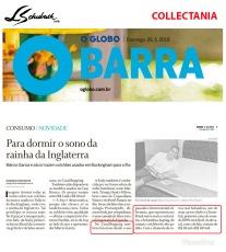 COLLECTANIA no CADERNO GLOBO BARRA, do JORNAL O GLOBO, de 26 de maio de 2019