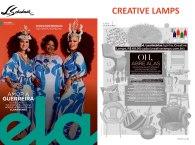 CREATIVE LAMPS na revista ELA, do Jornal O Globo, em 3 de março de 2019 - parte 1
