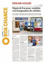 DREAM HOUSE no caderno BOA CHANCE do jornal O GLOBO de 10 de março de 2019