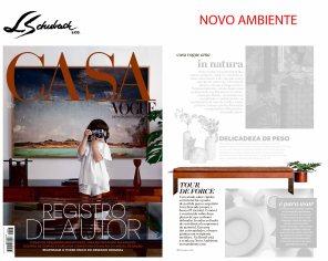 NOVO AMBIENTE na revista CASA VOGUE em maio de 2019