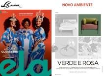NOVO AMBIENTE na revista ELA, do Jornal O Globo, em 3 de março de 2019 - parte 2