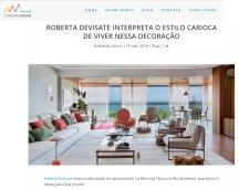 ROBERTA DEVISATE no site CONEXÃO DECOR publicado em 31 de maio de 2019