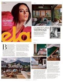 ADRIANA ESTEVES na REVISTA ELA do jornal O GLOBO de 30 de junho de 2019