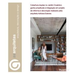 ADRIANA ESTEVES no site AS ARQUITETAS publicado em 26 de julho de 2019