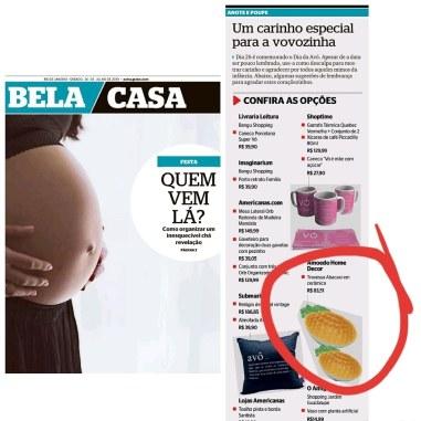 AMOEDO HOME DECOR no caderno BELA CASA do jornal EXTRA de 20 de julho de 2019