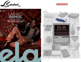 AMOEDO na revista ELA, do Jornal O Globo, em 09 de junho de 2019