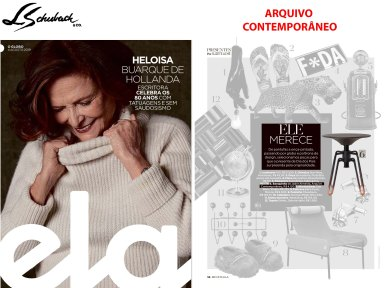 ARQUIVO CONTEMPORÂNEO na revista ELA, de 4 de agosto de 2019