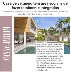 BETA ARQUITETURA no site da CASA E JARDIM publicado em 26 de junho de 2019