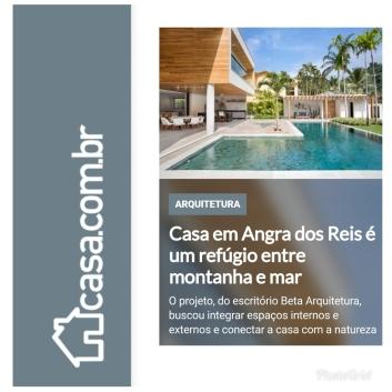 BETA ARQUITETURA no site da editoral Abril Casa.com.br publicado em 6 de julho de 2019