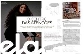 BEZAMAT ARQUITETURA na REVISTA ELA do jornal O GLOBO de 23 de junho de 2019