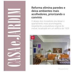 BEZAMAT ARQUITETURA no site da CASA E JARDIM publicado em 27 de junho de 2019