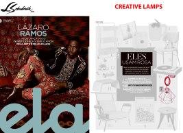 CREATIVE LAMPS na revista ELA, do Jornal O Globo, em 09 de junho de 2019
