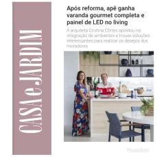 CRISTINA CÔRTES no site da CASA E JARDIM publicado no dia 28 de junho de 2019