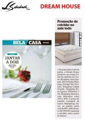 DREAM HOUSE no caderno BELA CASA, do jornal EXTRA, em 9 de junho de 2019