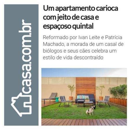 IVAN LEITE e PATRICIA MACHADO no site da editora abril casa.com.br publicado em 12 de julho de 2019