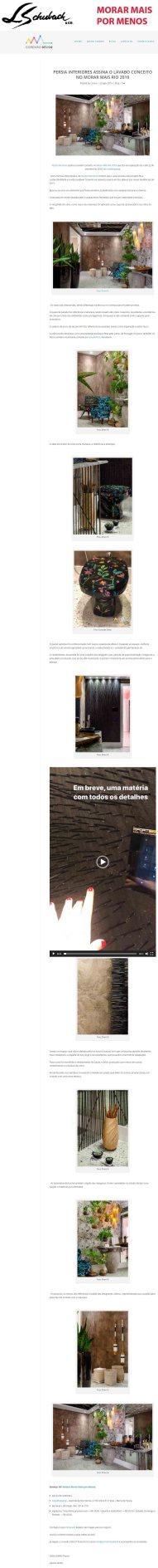 MORAR MAIS POR MENOS no blog CONEXÃO DECOR em 23 de agosto de 2019