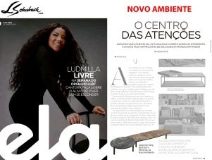 NOVO AMBIENTE na revista ELA, do jornal O GLOBO, em 23 de junho de 2019