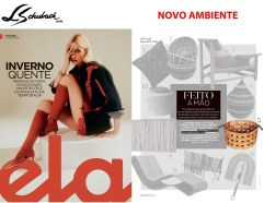 NOVO AMBIENTE na revista ELA, do jornal O Globo, em 7 de julho de 2019