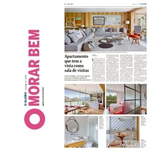ROBERTA DEVISATE no caderno MORAR BEM do jornal O GLOBO de 21 de julho de 2019 _1