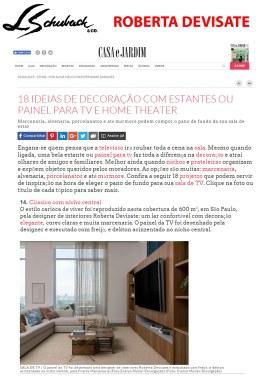 ROBERTA DEVISATE no site da CASA E JARDIM em 10 de junho de 2019