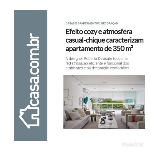 ROBERTA DEVISATE no site da Editora Abril casa.com.br publicado em 12 de junho de 2019