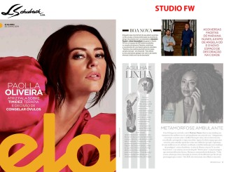 STUDIO FW na Revista ELA, do JORNAL O GLOBO, em 30 de junho de 2019