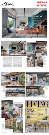 ADRIANA ESTEVES na revista LIVING em 13 de setembro de 2019