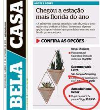 AMOEDO DECOR no caderno BELA CASA do jornal EXTRA em 21 de setembro de 2019