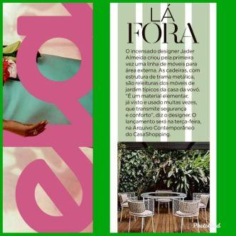ARQUIVO CONTEMPORÂNEO na revista ELA em 15 de setembro de 2019