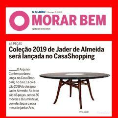 ARQUIVO CONTEMPORÂNEO no caderno MORAR BEM em 15 de setembro de 2019