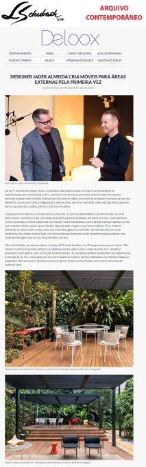 ARQUIVO CONTEMPORÂNEO no site DELOOX em 11 de setembro de 2019