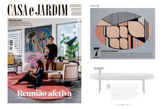 AVANTI TAPETES na revista CASA E JARDIM de setembro de 2019_