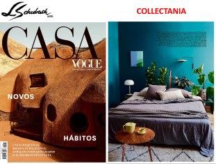 COLLECTANIA na revista CASA VOGUE em setembro de 2019