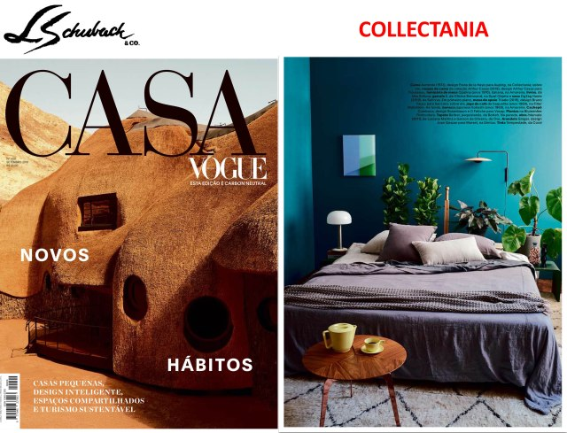 COLLECTANIA na revista CASA VOGUE em setembro de 2019