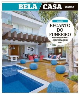 CRISTINA CORTES no caderno BELA CASA do jornal EXTRA em 8 de setembro de 2019