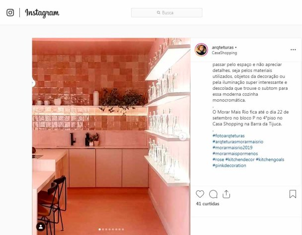 MORAR MAIS POR MENOS no instagram ARQTETURAS em 11 de setembro de 2019
