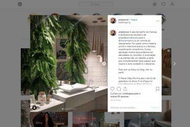 MORAR MAIS POR MENOS no instagram ARQTETURAS, em 19 de agosto de 2019