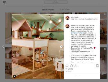 MORAR MAIS POR MENOS no instagram ARQTETURAS em 23 de agosto de 2019