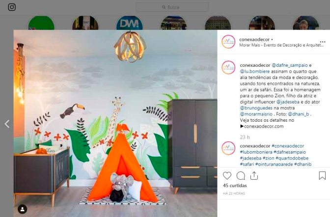 MORAR MAIS POR MENOS no instagram CONEXÃODECOR em 28 de agosto de 2019