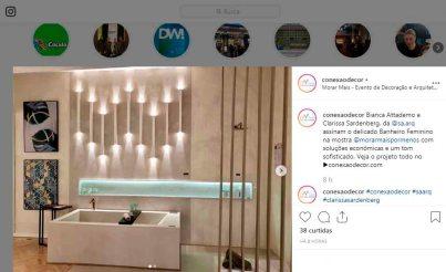MORAR MAIS POR MENOS no instagram CONEXÃODECOR em 29 de agosto de 2019