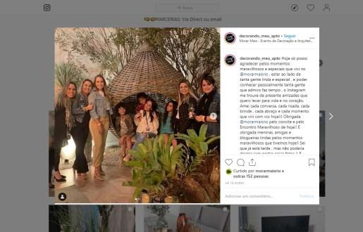 MORAR MAIS POR MENOS no instagram DECORANDO_MEU_APTO em 14 de agosto de 2019